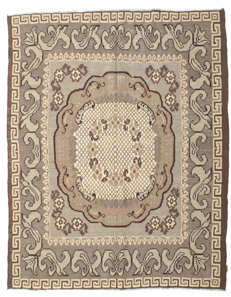 Rose Kelim Moldavia Rug 217X282 Authentic  Oriental Handwoven Light Grey/Beige (Wool, Moldova)