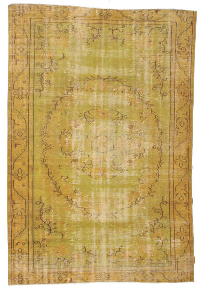 Colored Vintage rug XCGZF1937