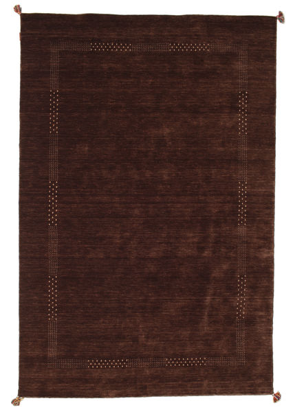 Loribaf Loom Rug 195X293 Authentic  Modern Handknotted Dark Red (Wool, India)