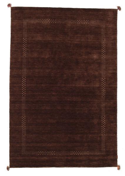 Loribaf Loom Rug 196X293 Authentic  Modern Handknotted Dark Red/Dark Brown (Wool, India)