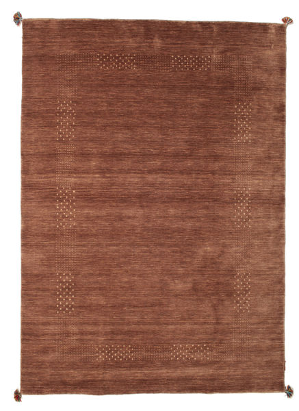 Loribaf Loom Alfombra 119X179 Moderna Hecha A Mano Rojo Oscuro/Marrón (Lana, India)