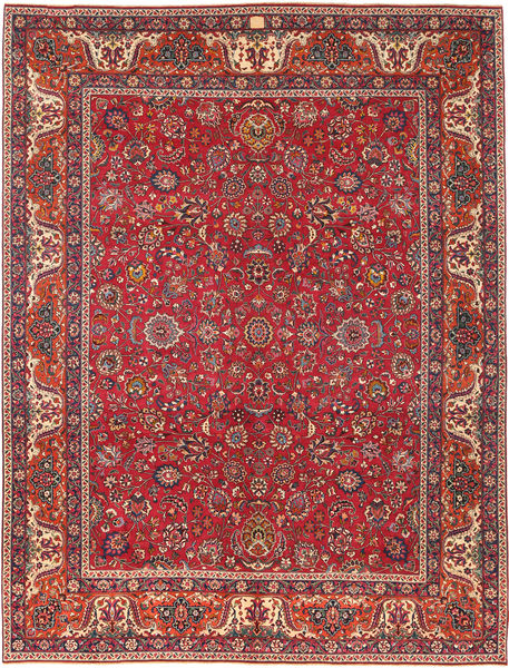 Mashad Patina Rug 300X393 Authentic  Oriental Handknotted Brown/Dark Red Large (Wool, Persia/Iran)