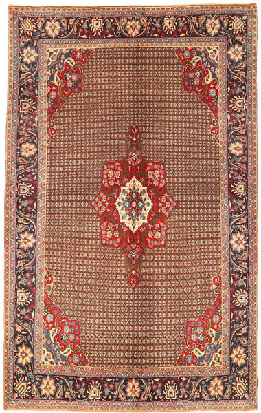 Koliai Rug 198X323 Authentic  Oriental Handknotted Dark Brown/Dark Red (Wool, Persia/Iran)