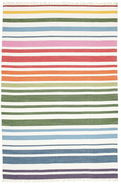 Covor Rainbow Stripe - White CVD13960