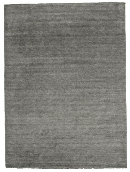 Handloom fringes - Donkergrijs tapijt CVD14015