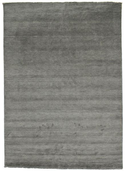 Handloom fringes - dunkelgrau Teppich CVD14017
