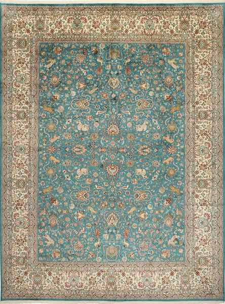 Tapis Cachemire pure soie figural / pictural MSA8