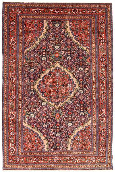Ardebil Patina Rug 193X298 Authentic  Oriental Handknotted Brown/Dark Red (Wool, Persia/Iran)