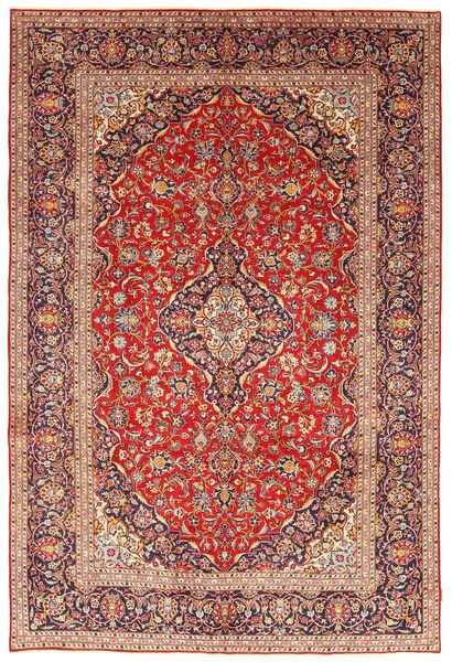 Keshan Matta 243X351 Äkta Orientalisk Handknuten Roströd/Brun (Ull, Persien/Iran)