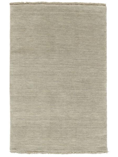 Handloom Fringes - Grå/Lys Grønn Teppe 160X230 Moderne Pastell Grønn/Lys Grå (Ull, India)