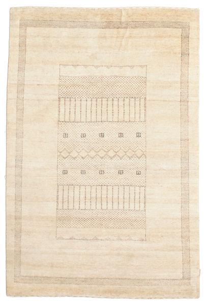 Gabbeh Loribaft Matto 149X224 Moderni Käsinsolmittu Beige (Villa, Intia)