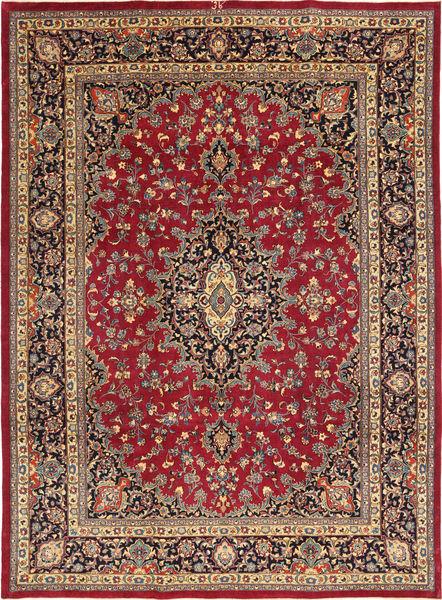 Mashad Patina Allekirjoitettu: Kafi Matto 245X347 Itämainen Käsinsolmittu Ruskea/Punainen (Villa, Persia/Iran)