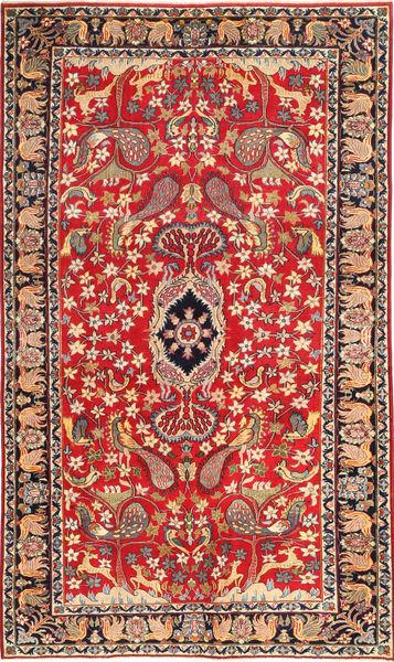 Nadżafabad Patina Obrazkowy Dywan 188X320 Orientalny Tkany Ręcznie Rdzawy/Czerwony/Ciemnoczerwony (Wełna, Persja/Iran)