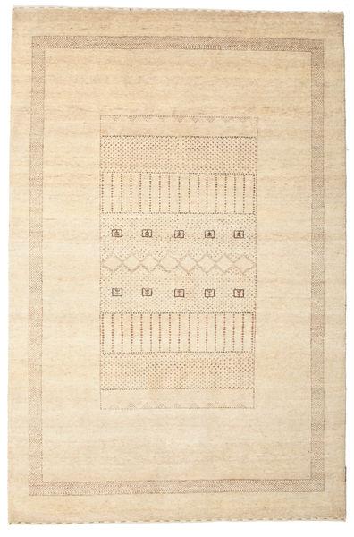 Gabbeh Loribaft Matto 147X223 Moderni Käsinsolmittu Beige/Vaaleanruskea (Villa, Intia)