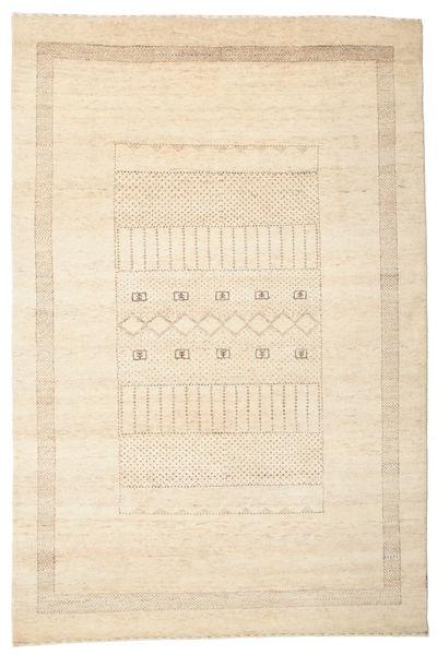 Gabbeh Loribaft Matto 148X222 Moderni Käsinsolmittu Beige (Villa, Intia)