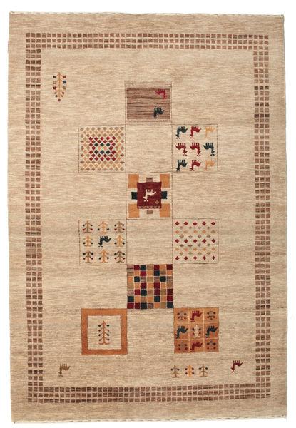 Gabbeh Loribaft Matto 153X225 Moderni Käsinsolmittu Beige/Vaaleanruskea/Tummanbeige (Villa, Intia)