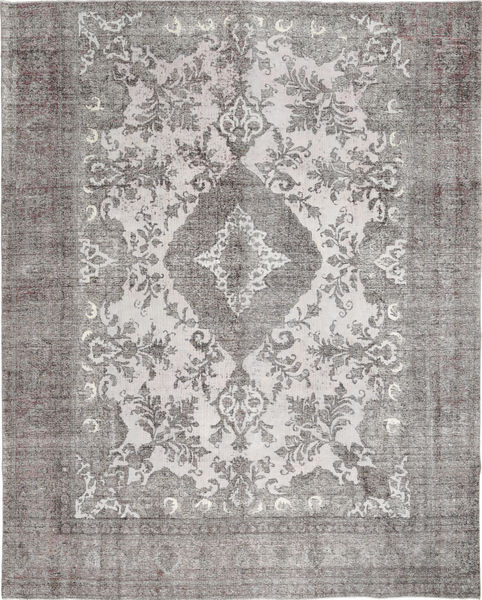 Colored Vintage Rug 293X364 Authentic  Modern Handknotted Light Grey Large (Wool, Persia/Iran)
