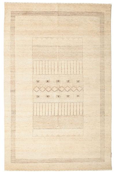 Gabbeh Loribaft Matto 146X226 Moderni Käsinsolmittu Beige/Keltainen (Villa, Intia)