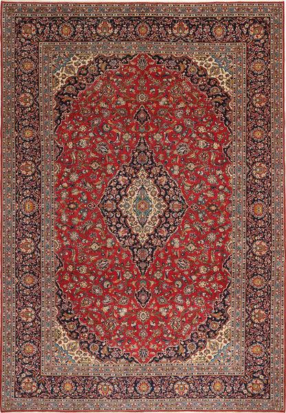Keshan Πατίνα Χαλι 275X405 Ανατολής Χειροποιητο Σκούρο Κόκκινο/Καφέ Μεγαλα (Μαλλί, Περσικά/Ιρανικά)