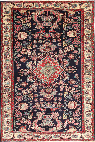 Bakhtiari Patina Pictorial Rug 215X323 Authentic  Oriental Handknotted Dark Purple/Brown (Wool, Persia/Iran)