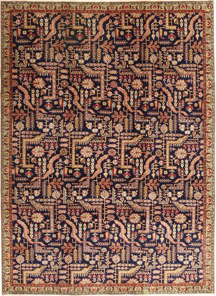 Lillian Patina Matto 237X327 Itämainen Käsinsolmittu Vaaleanruskea/Tummanvioletti (Villa, Persia/Iran)