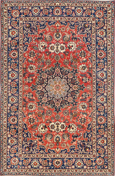 Najafabad Patina Rug 203X320 Authentic  Oriental Handknotted Dark Grey/Light Brown (Wool, Persia/Iran)