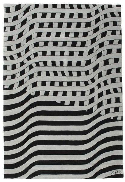 Tapis Passages Handtufted - Noir / Gris CVD14409