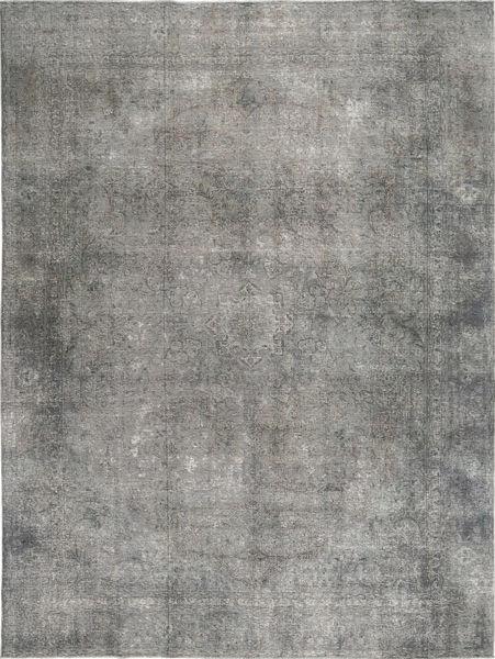 カラード ヴィンテージ 絨毯 278X375 モダン 手織り 濃いグレー/薄い灰色 大きな (ウール, ペルシャ/イラン)