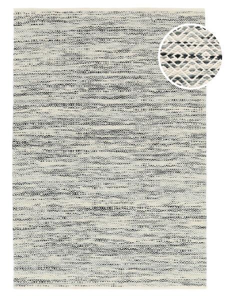 Hugo - 黒/グレー 絨毯 250X350 モダン 手織り 薄い灰色/ベージュ 大きな ( インド)