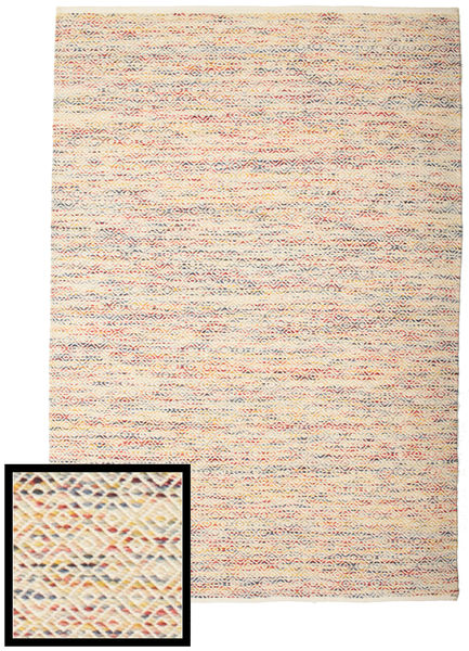 Hugo - Multi Tapis 250X350 Moderne Tissé À La Main Beige/Marron Clair Grand ( Inde)