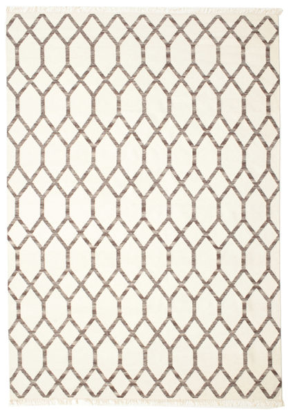 Renzo Rug 250X350 Authentic  Modern Handwoven Beige/Light Brown Large (Wool, India)