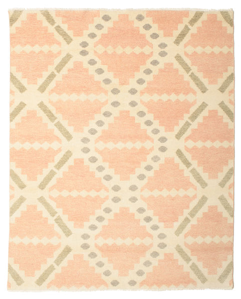 Tallin Rug 200X250 Authentic  Modern Handknotted Light Pink/Beige (Wool, India)