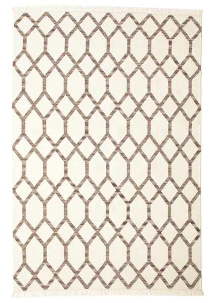 Renzo Rug 200X300 Authentic  Modern Handwoven Beige/#missing(0,)# (Wool, India)