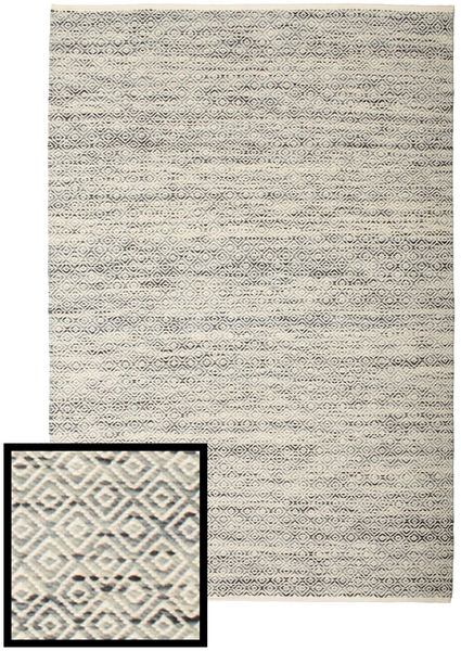 Hugo - Black / Grey rug CVD14457