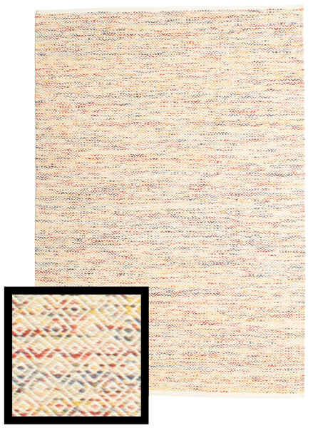 Hugo - Multi Rug 160X230 Authentic  Modern Handwoven Light Pink/Beige ( India)