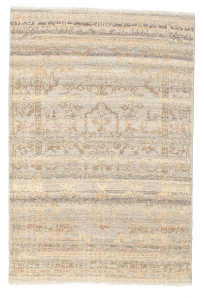 Lenore Vintage Rug 120X180 Authentic  Modern Handknotted Light Brown/Beige (Wool, India)