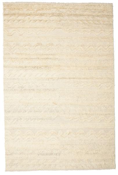 Lana 絨毯 200X300 モダン 手織り ベージュ (ウール, インド)