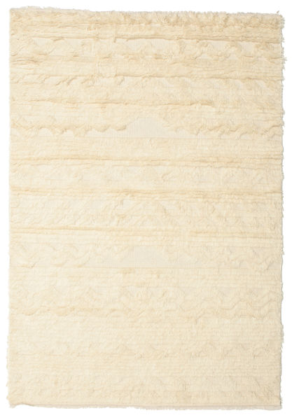 Lana Rug 140X200 Authentic  Modern Handknotted Beige/Yellow (Wool, India)