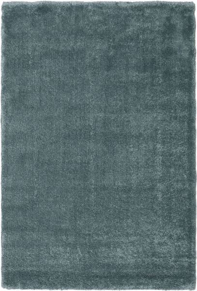 Shaggy Sadeh - Teal Rug 200X300 Modern Dark Grey/Turquoise Blue/Light Grey ( Turkey)