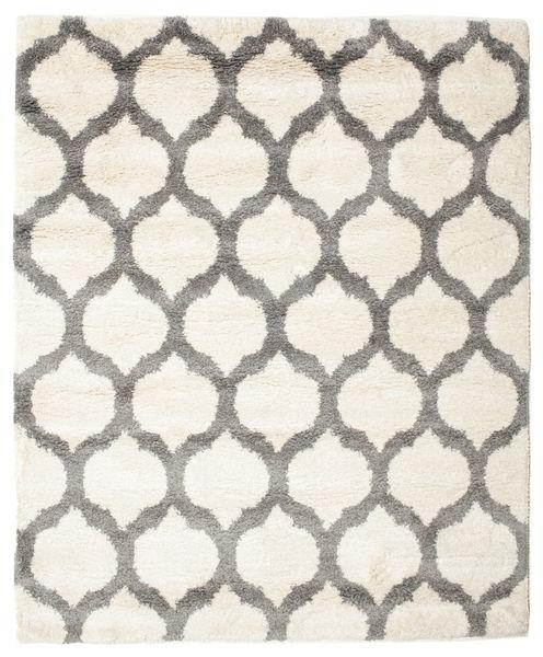 Berber Shaggy Illusia - Gebroken wit / Grijs tapijt CVD14721