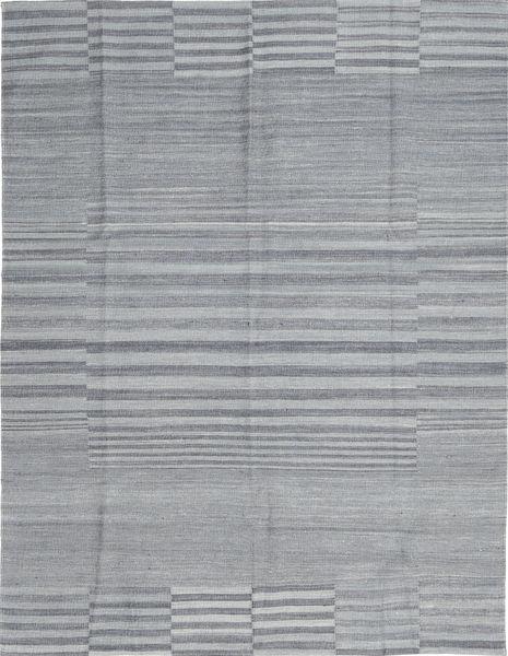 Kelim Moderni Matto 179X227 Moderni Käsinkudottu Vaaleanharmaa (Villa, Afganistan)
