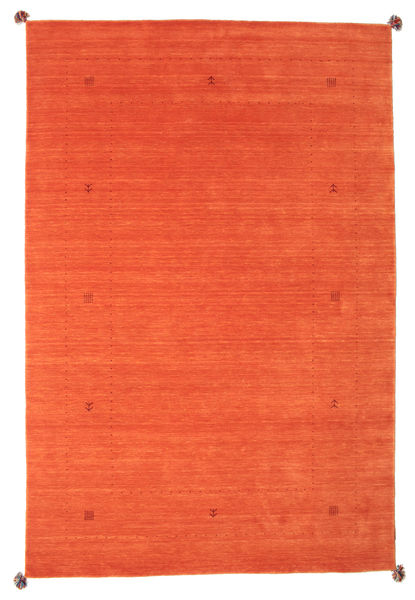 Loribaf Loom Rug 192X292 Authentic  Modern Handknotted Orange (Wool, India)