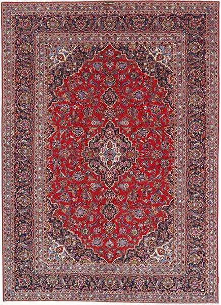 Keshan Patina Matto 241X341 Itämainen Käsinsolmittu Tummanpunainen/Tummanvioletti (Villa, Persia/Iran)
