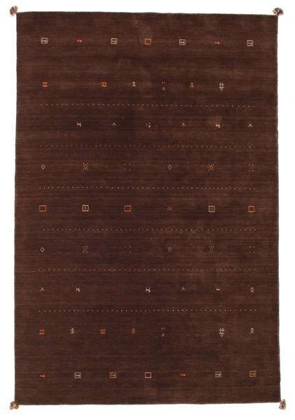 Loribaf Loom Rug 201X299 Authentic  Modern Handknotted Dark Red/Dark Brown (Wool, India)