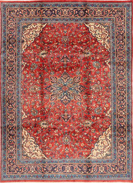 Mahal Matto 225X313 Itämainen Käsinsolmittu Ruskea/Violetti (Villa, Persia/Iran)