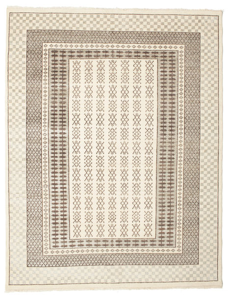 Sandor Rug 200X250 Authentic  Modern Handknotted Beige/Light Brown (Wool, India)