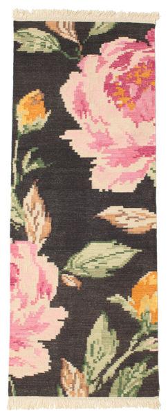 Kelim Karabach Sofia - Zwart tapijt CVD14350