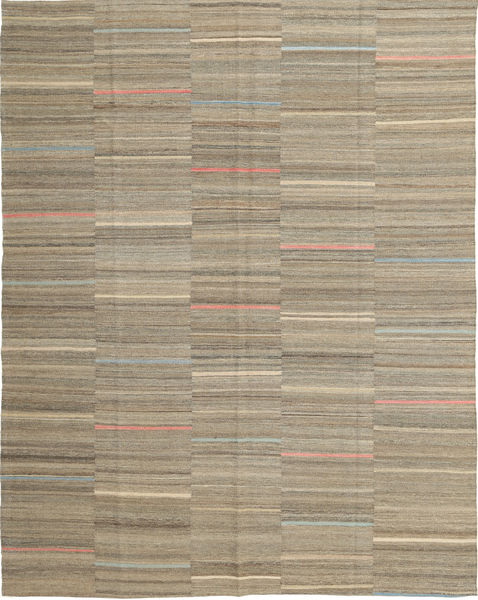 Kilim Modern Rug 185X232 Authentic  Modern Handwoven Light Brown (Wool, Afghanistan)