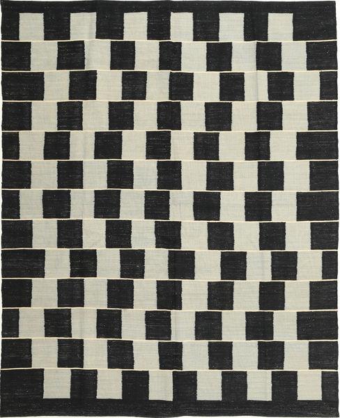 Kelim Moderni Matto 179X222 Moderni Käsinkudottu Musta/Vaaleanharmaa (Villa, Afganistan)
