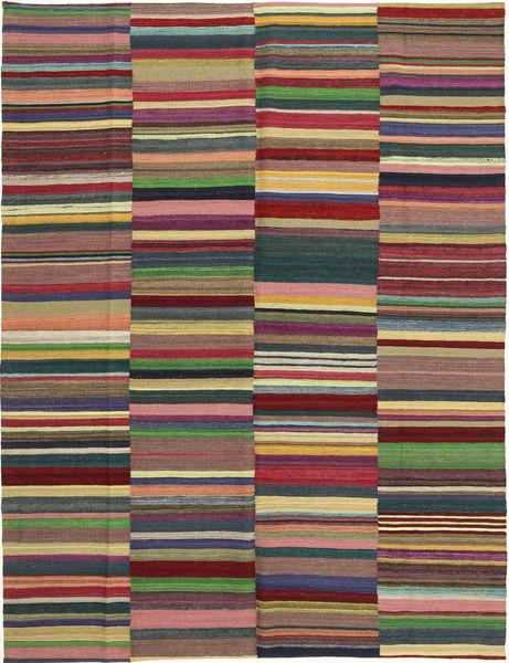 Kelim Moderni Matto 180X235 Moderni Käsinkudottu Violetti/Tummanvioletti (Villa, Afganistan)